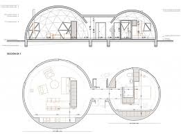 dome house floor plans geodesic and self sufficient housing by ecoproyecta metalocus