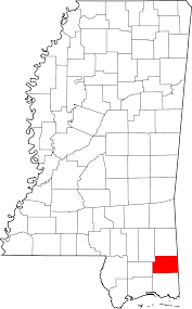 Mississippi State Map File Map Of Mississippi Highlighting George County Svg Wikimedia