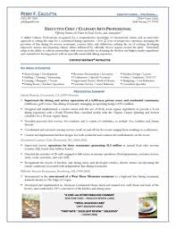 executive chef resume objective resume for your job application