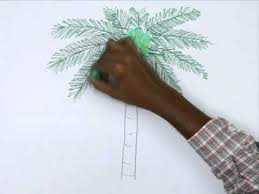 how to draw a coconut tree youtube