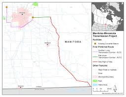 Manitoba Canada Map by Canadian Environmental Assessment Registry Environmental