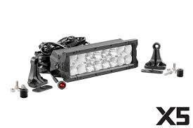 country 10in cree led light bar dual row x5 series