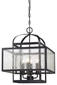 Felix 4 Light Cage Vanity - minka lavery lineage 4 light bath in iron transitional