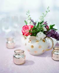 Feather And Flower Centerpieces by Floral Wedding Centerpieces Martha Stewart Weddings