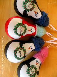 light bulb christmas ornaments crafts cute ideas antigua lady