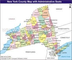 Counties In Ny State Map Ny State Map