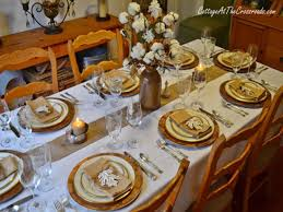 Thanksgiving Dinner Table by Round Table Setting Ideas Thanksgiving Indians Thanksgiving