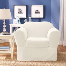 white slipcover chair the most inspiring sure fit slipcovers chair with surefit furniture