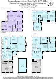 Floor Plan Of A Bank by 8 Bed Detached House For Sale In Brick Kiln Lane Weston Bank