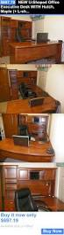 u shaped office desk with hutch office furniture new u shaped office executive desk with hutch