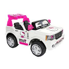 kitty bow tie suv toys