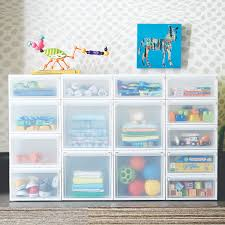 storage bins solutions the container store stacking storage