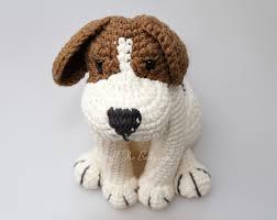azor the beagle dog amigurumi pattern puppy crochet pattern