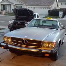 top modded 1980 mercedes benz 450sl rides wheelwell