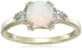 composite natural opal 10k yellow gold ethiopian opal pink tourmaline and diamond 3