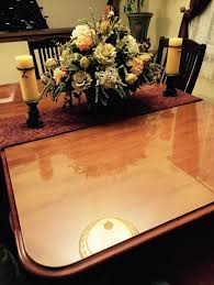 how to protect wood table top customer project custom cut glass table cover custom glass table