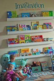 do it yourself project rain gutter bookshelves ctworkingmoms