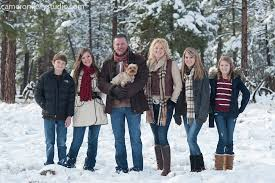winter how do i coordinate my family for bundle up in the snow