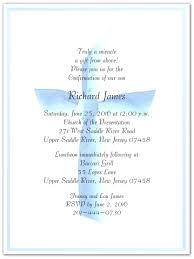 confirmation invitations confirmation invite wording blue ribbon cross confirmation wording