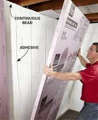 Cost To Finish 600 Sq Ft Basement by How To Finish A Basement Wall Block Wall Basements And Cement
