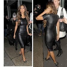 2016 fashion dress women jumpsuit bandage ladies u0027 pu dress leather