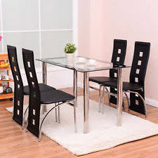 Dining Room Table Glass Dining Furniture Sets Ebay