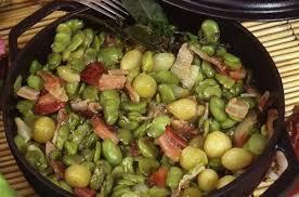feve cuisine fèves au lard