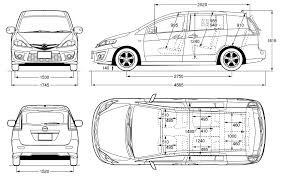 premacy mazda premacy 2008 blueprint download free blueprint for 3d modeling