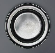 personalized pewter plate engraved pewter plate by frederick bassett