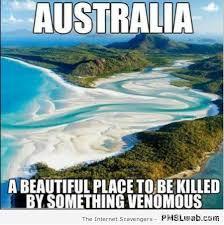 Australia Meme - 7 australia a beautiful place to be killed meme pmslweb