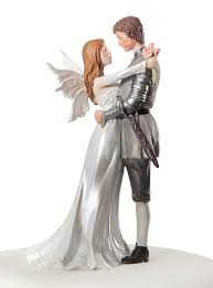 photo cake topper wedding collectibles fairy wedding cake topper