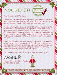 letter from santa template free download 140 holiday stickers