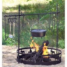 guide gear campfire cooking equipment set campfires cooking