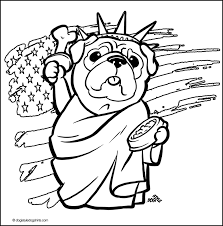 pug coloring pages getcoloringpages