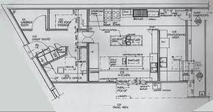 kitchen outstanding restaurant kitchen layout dimensions plans