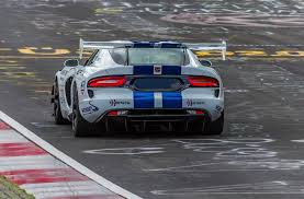 dodge viper the dodge viper acr just ran the u0027ring in an unofficial 7 03 45
