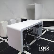 White Gloss Meeting Table Innovative White Breakfast Bar Table With Breakfast Bar With White