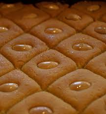 cuisine libanaise facile namoura gâteau libanais gateau de semoule recette ramadan