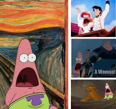 Patrick Moving Meme - best 25 surprised patrick ideas on pinterest patrick meme