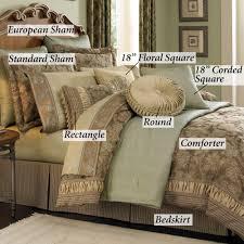 Standard Queen Bed Size Bedroom Elegant Bed Queen Size Bedspread With Luxury Comforter