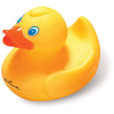 promotional medium rubber ducks with custom logo for 0 86 ea