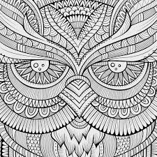 decorative ornamental owl background stock vector image 47579650