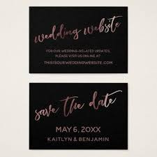save the date website gold black wedding website save the date card black gifts