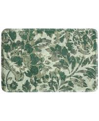 bacova accent rugs bacova milady 20 x 30 floral tile accent rug rugs macy s