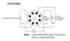 h3cr g8el 200 240vac omron star delta timer jababekaelektric