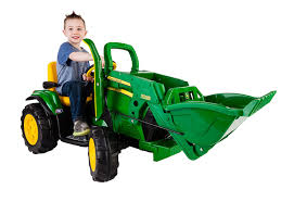 amazon com peg perego john deere ground loader ride on green