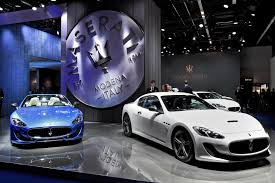 maserati inside 2015 maserati at the frankfurt motor show 2015