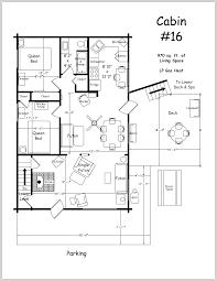 cabin floor plans siex