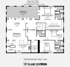 architectural floor plan software the block sky high 2014 floorplan architecture images floor plan