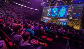 in e sports video gamers draw real crowds and big money the new